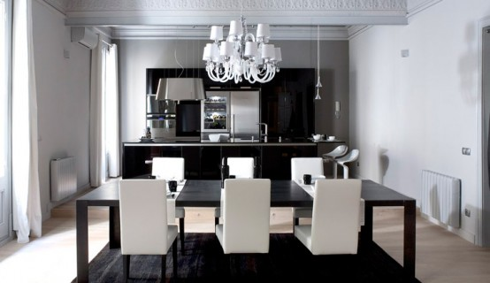 Black And White Dining Room | Mystical Designs and Tags