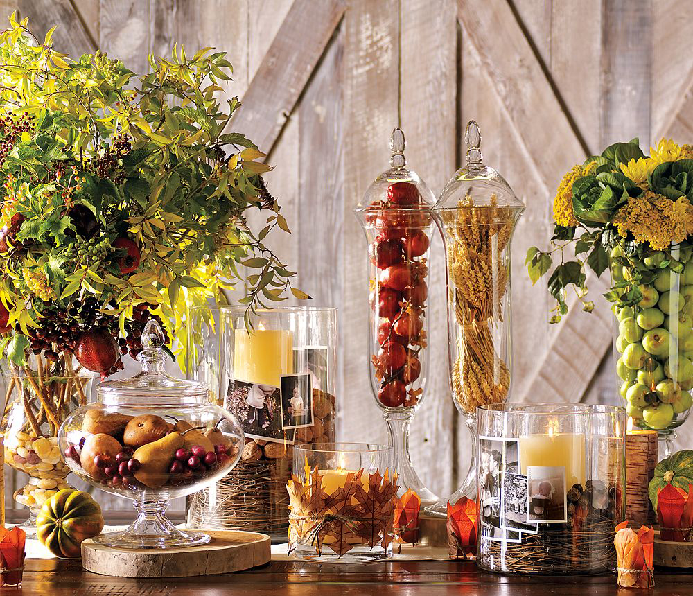 Thanksgiving Decor With Nature