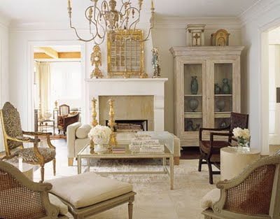 admiring french country decor