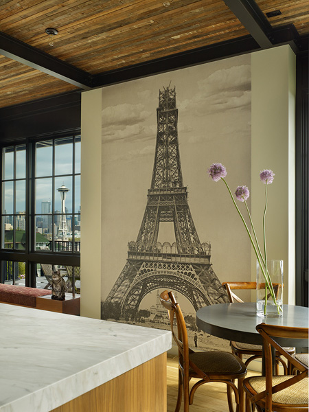 eiffel tower in home decor