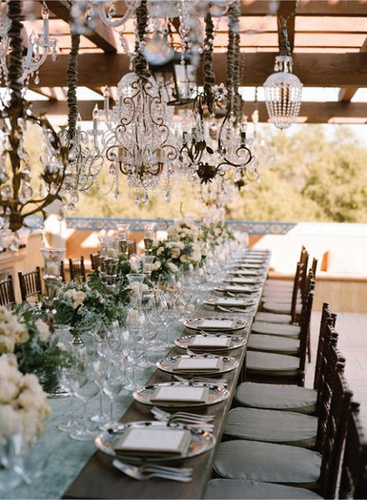 Inspiration Outdoor Special Occasion Table Setting
