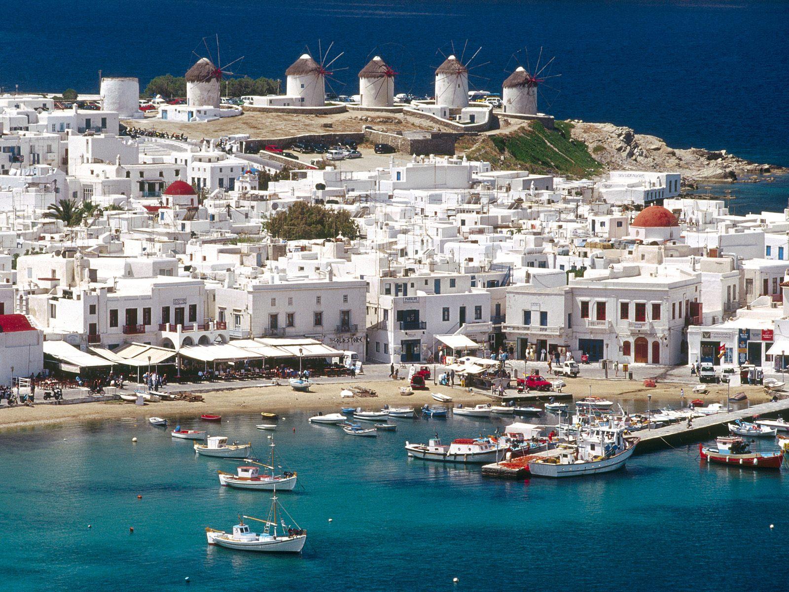 Volo Hotel Paros Grecia