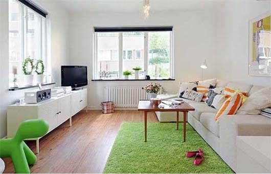 Modern World Furnishing Design: smallest studio apartment