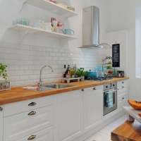 simplicities of scandinavian kitchen design