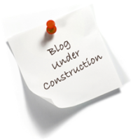 blog under construction - maybe