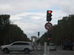 Mid way point from Arc de Triomphe - where we started from