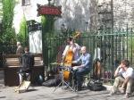 Street Jazz musicians