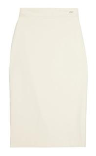 gucci cotton blend twil pencil skirt 535