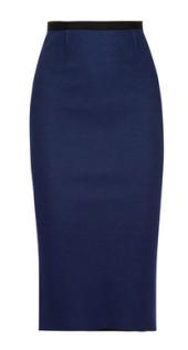 rolandmouret yama cotton pique pencil skirt 849