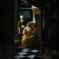 interior design: dutch oil painting inspired checkered floors