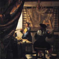 Vermeer_1666-7_The-Painter+His-Model-as-Klio_GGW-334