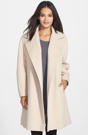 Fleurette Loro Piana Wool Clutch Coat 1095