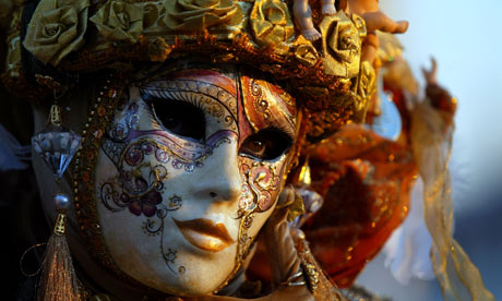 Masked-reveller-at-Carnival