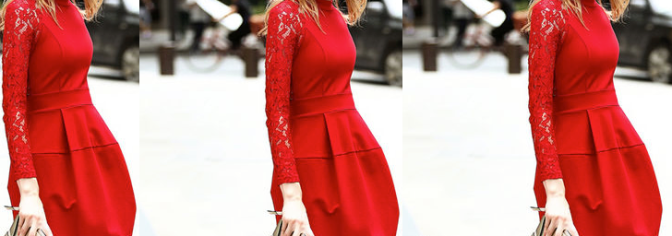 Fashion: Valentine's Day Statement