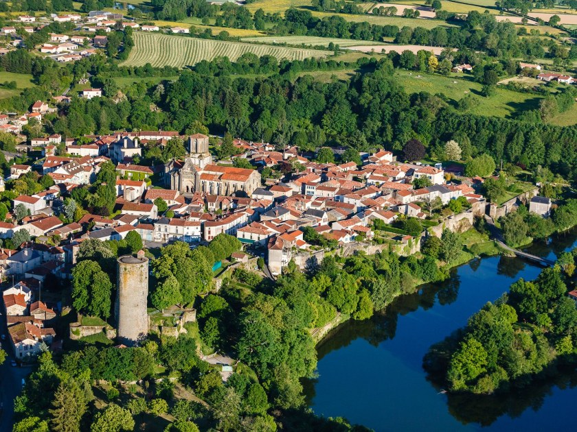 small-towns-france-Vouvant-GettyImages-536908871