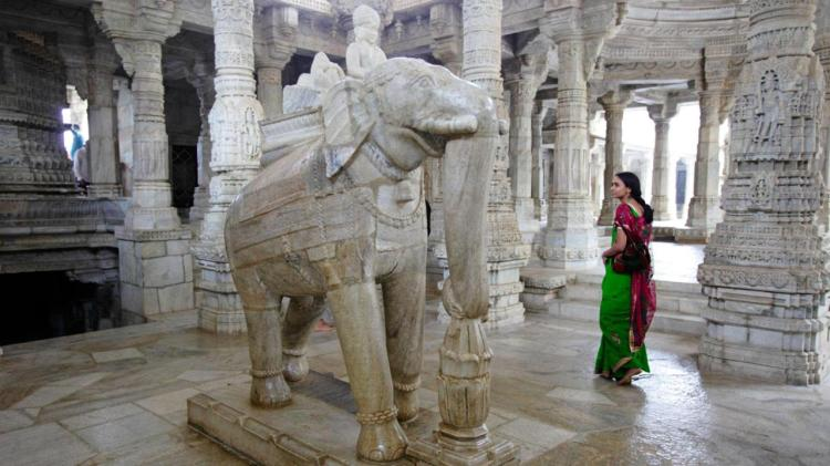 White Marble temple of Rajasthan