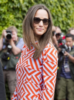 Mandatory Credit: Photo by Amer Ghazzal/REX/Shutterstock (5744896v) Pippa Middleton Wimbledon Tennis Championships, London, UK - 04 Jul 2016