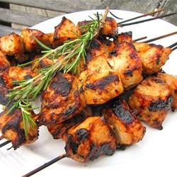 chicken kebob