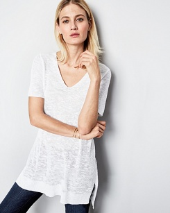 Eileen Fisher Organic cotton tunic - 42792_main
