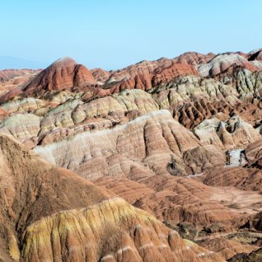 Zhangye National Geo Park, China