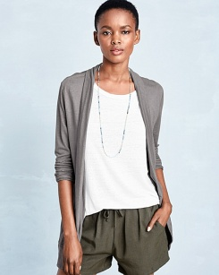 linen cardigan - 40672_main