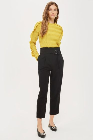Paperwaist Peg Trousers USD75.00