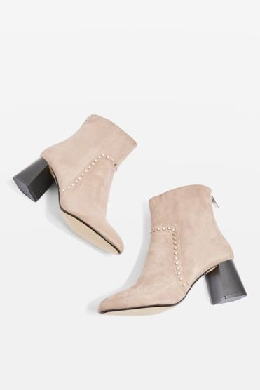 Brave studded boots USD65.00