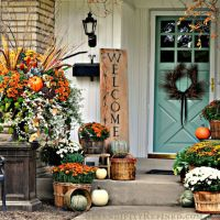 Autumn Decor and Halloween