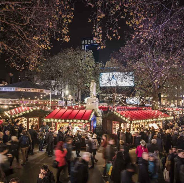 Christmas Places To Visit In London: Travel: Christmas Markets In London