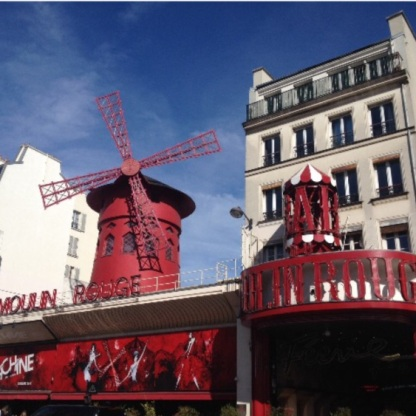 Paris Past the Eiffel Tower