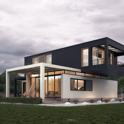 overlapping-coloured-block-modern-house-exterior-design-ideas