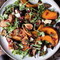 Food: Roasted Squash, Caramelized Figs and Feta Salad