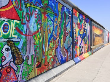Berlin wall walk is added to a trip to Germany in a year or so