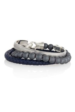 I have a thing for men's bracelet, and the best stacked are the most admired