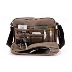 Office and business travel messenger bag is too sexy to pass up for the hubs