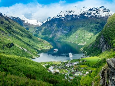 Geiranger Fjord Norway - I plan to spend a week here just existing