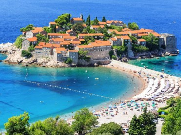 Experience the beaches of Montenegro