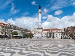 Lisbon Rossio Square - worth the stroll