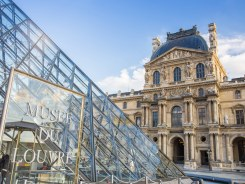 See the Louvre - inside and out