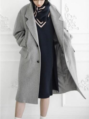 Want this: ULKIN Oversized coat USD618.00