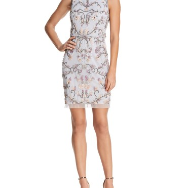 Adrianna Papell Embellished Cocktail dress9759396_fpx