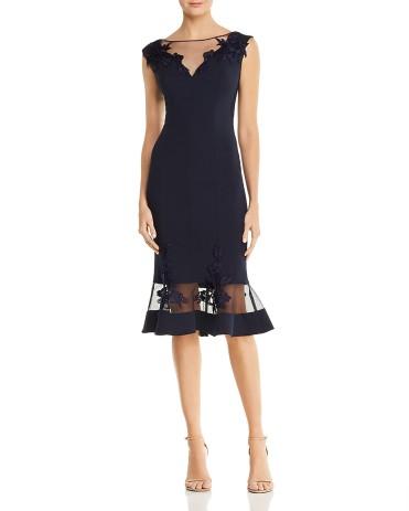 Aidan Mattox Illusion Scuba Dress 9788391_fpx
