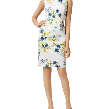Hobbs London Fiona Floral Print Dress9784602_fpx