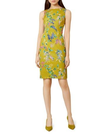 Hobbs London Moira Floral Print Sheath Dress9814542_fpx