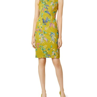 Hobbs London Moira Floral Print Sheath Dress9814542_fpx