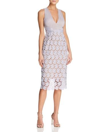 Sau Lee Jessie Textured Sheath Dress9728127_fpx