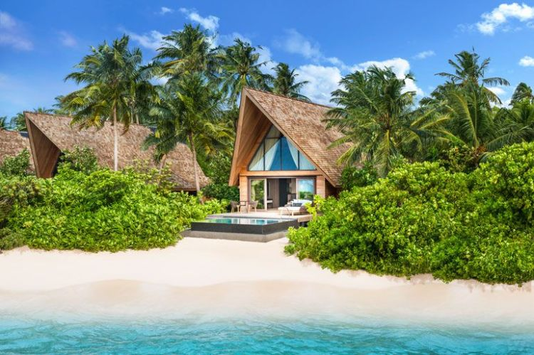 Image result for maldives beach villa with private pool