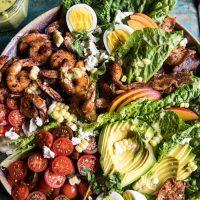 Food: Dinner Tonight - Shrimp Cobb Salad