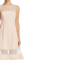 Fashion: Semi-formal Wedding Dress and The Maid Of Honor