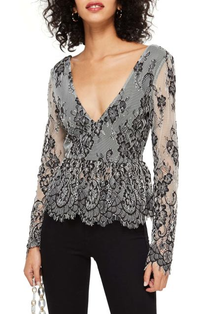Top shop Tie Back Lace for the holidays